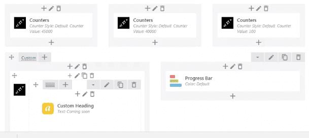 Hướng dẫn chia cột để thiết lập bố cục Trang chủ bằng Visual Editor