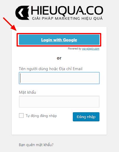 Hướng dẫn đăng nhập vào website đơn giản bằng tài khoản Google