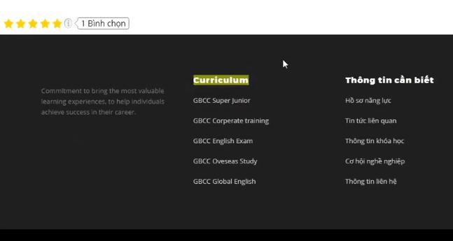 Hướng dẫn thay đổi thông tin Widget ở chân website