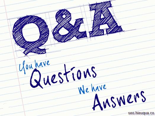 Questions and Answers là hình thức nội dung rất phổ biến