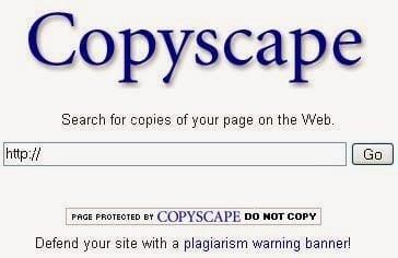 CopyScape cung cấp cho bạn đến 20 lần check/site/tháng miễn phí, dùng premium cũng chỉ có 1k/lần check